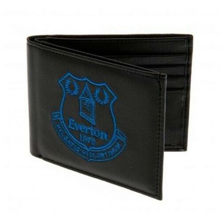 Everton Embroidered PU Leather Wallet